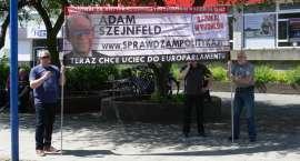 Solidarność pikietowała przed biurem PO