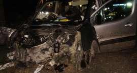 Wypadek na trasie Okonek - Podgaje