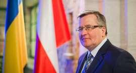 Bronisław Komorowski odebrał honorowe obywatelstwo Piły