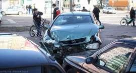 Wypadek w centrum Piły [ZDJĘCIA]