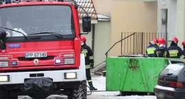 Pożar w piwnicy przy Wyszyńskiego. Jedna osoba nie żyje