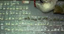Narkotyki w mieszkaniu 59-latki