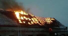 Pożar w Dźwiersznie Wielkim