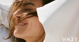 Kasia Smutniak na okładce magazynu Vogue