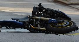 Kolejny wypadek z udziałem motocyklisty