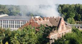 Pożar przy ul. Warsztatowej w Pile