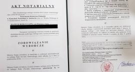Wyborcze obietnice w akcie notarialnym. Kandydat zapłaci, jeśli nie dotrzyma słowa