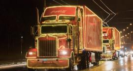 Piła na trasie świątecznej ciężarówki Coca-Coli