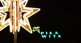 Świąteczne iluminacje w Pile [VIDEO]