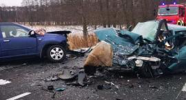 Wypadek na drodze wojewódzkiej 178. Nie żyje 49-letni mężczyzna