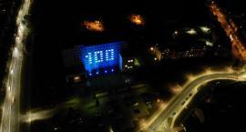 Iluminacja na stulecie policji [VIDEO]