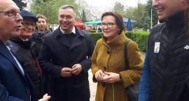 Ewa Kopacz w Pile i Złotowie. Trwa kampania przed eurowyborami [ZDJĘCIA]