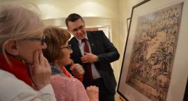 """""""Przeszłość i Przyszłość"""". Historyczna grafika w Muzeum Staszica [VIDEO]"""