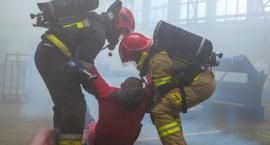 Strażacy ćwiczyli w Exalo [ZDJĘCIA]