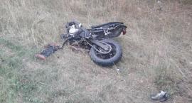 Śmierć na motocyklu. 27-latek miał zakaz prowadzenia pojazdów [ZDJĘCIA]