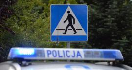 """Policjanci przy """"zebrach"""". W trosce o bezpieczeństwo pieszych i rowerzystów"""