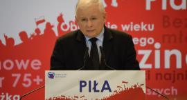 """Jarosław Kaczyński w Pile: """"Budujemy Rzeczpospolitą równych i wolnych Polaków"""""""