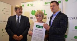 """Krzysztof Paszyk prezentuje """"Pakt dla zdrowia"""" i apeluje do kontrkandydatów"""