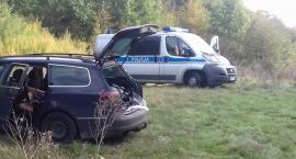 Pijany kierowca doprowadził do kolizji i uciekł z miejsca zdarzenia