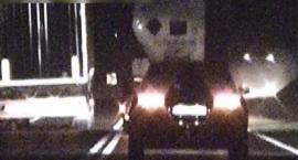 Niebezpieczny manewr kierowcy ciężarówki [VIDEO]