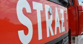 Spłonął wagon na bocznicy kolejowej w Pile. Nie żyje jedna osoba