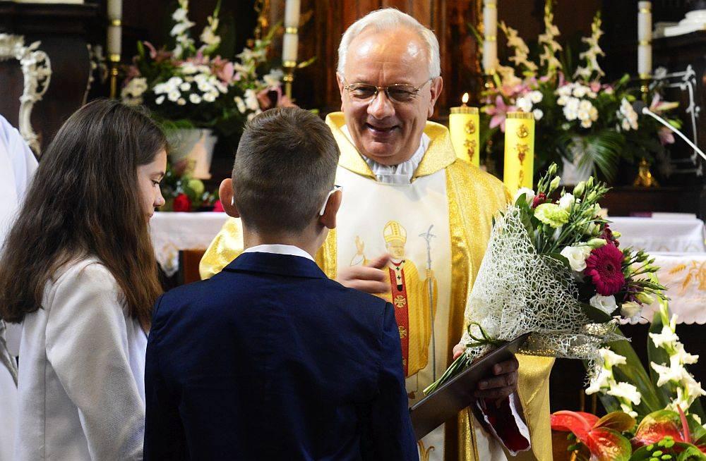 Z życia parafii, Józef Gawlik odszedł emeryturę - zdjęcie, fotografia