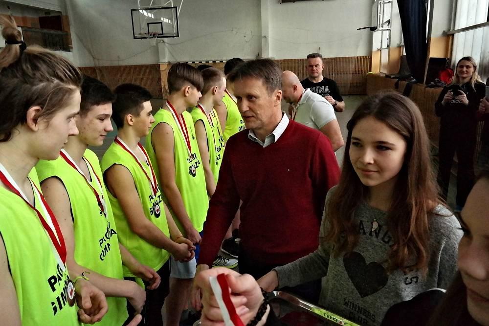 Koszykówka, POLBASKET ósmy - zdjęcie, fotografia
