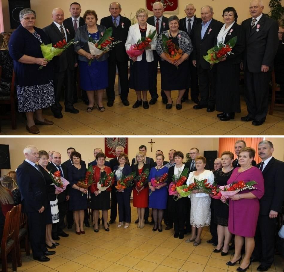 Seniorzy, Jubileusze małżeńskie Winnicy - zdjęcie, fotografia