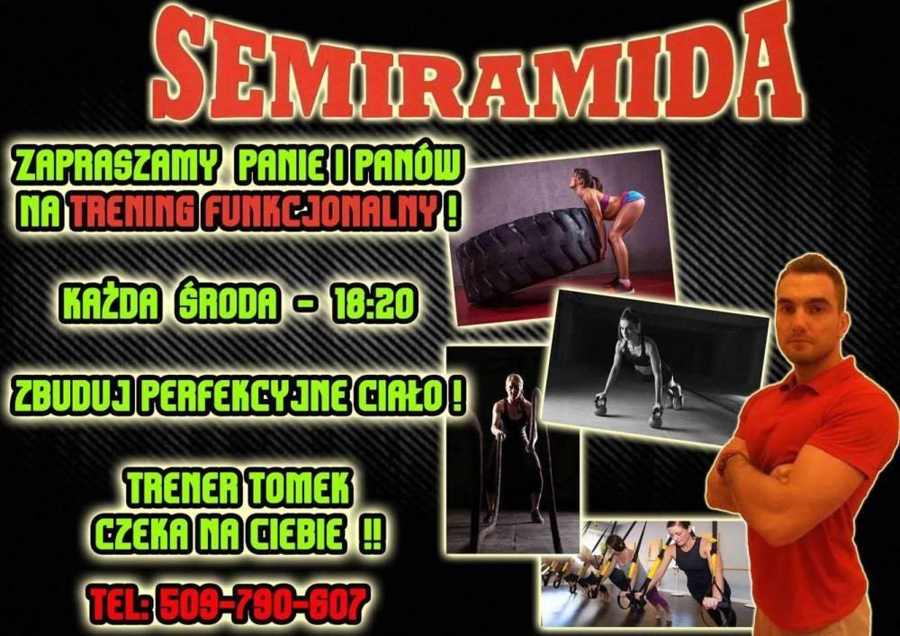 Fitness, Trening funkcjonalny Semiramidzie - zdjęcie, fotografia