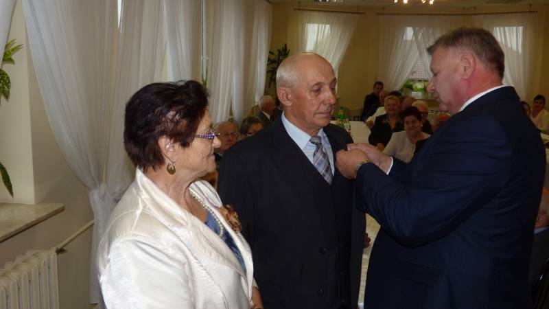 Seniorzy, Złote gminie Obryte - zdjęcie, fotografia
