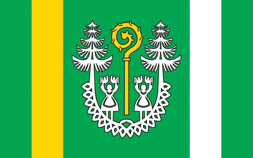 artykuły, Gmina Zatory swój flagę - zdjęcie, fotografia