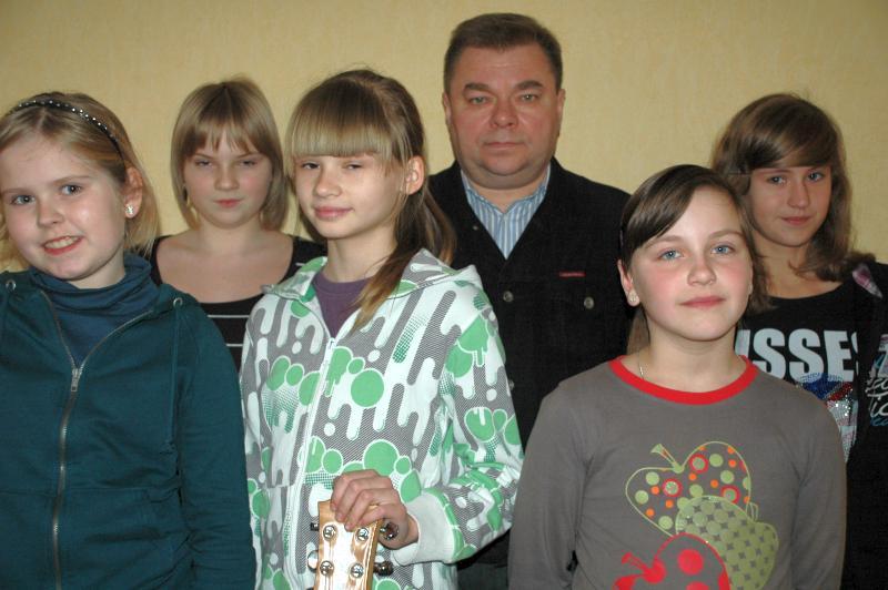 Pułtusk Kolęduje, Piosenki MCKiS grupa młodsza - zdjęcie, fotografia