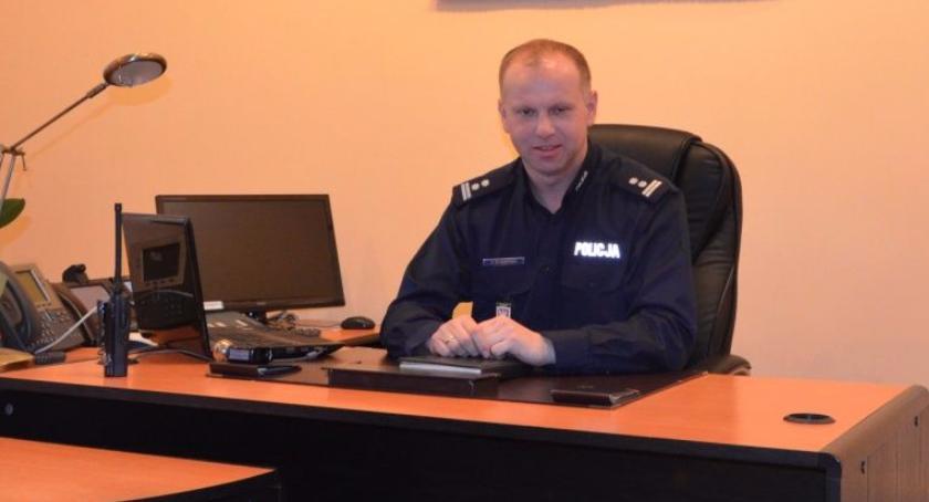 Wywiad, numerze rozmowa Komendantem Policji Jarosławem Olszewskim - zdjęcie, fotografia
