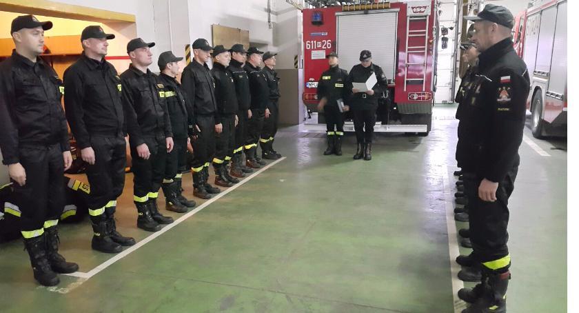 Straż Pożarna, Nagrody strażaków - zdjęcie, fotografia