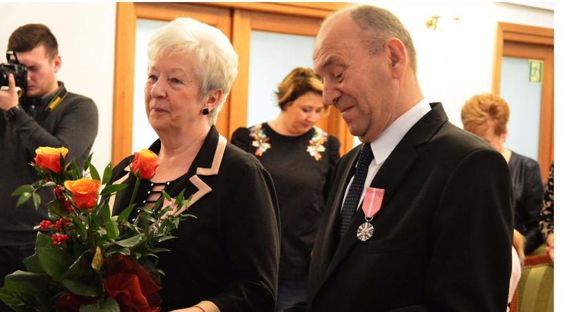 Seniorzy, Złoci Państwo Witoszyńscy - zdjęcie, fotografia