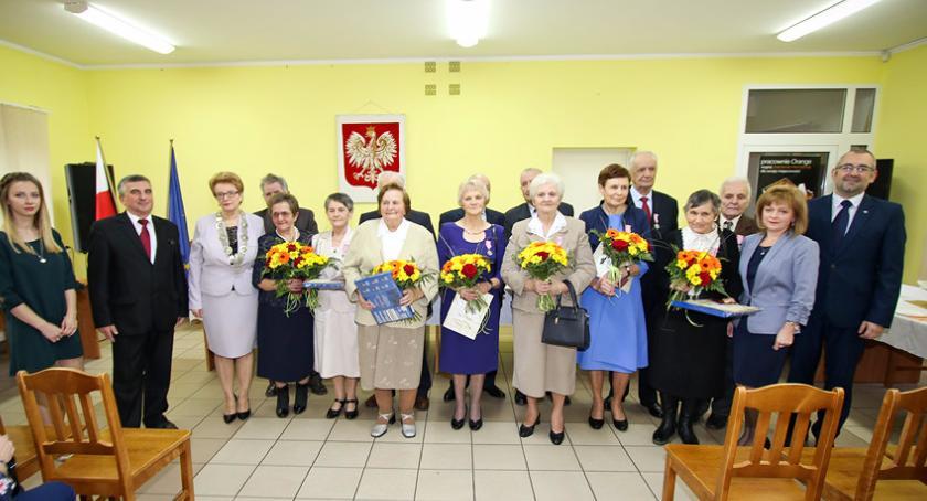 Seniorzy, Złote Żelazne Gzach - zdjęcie, fotografia