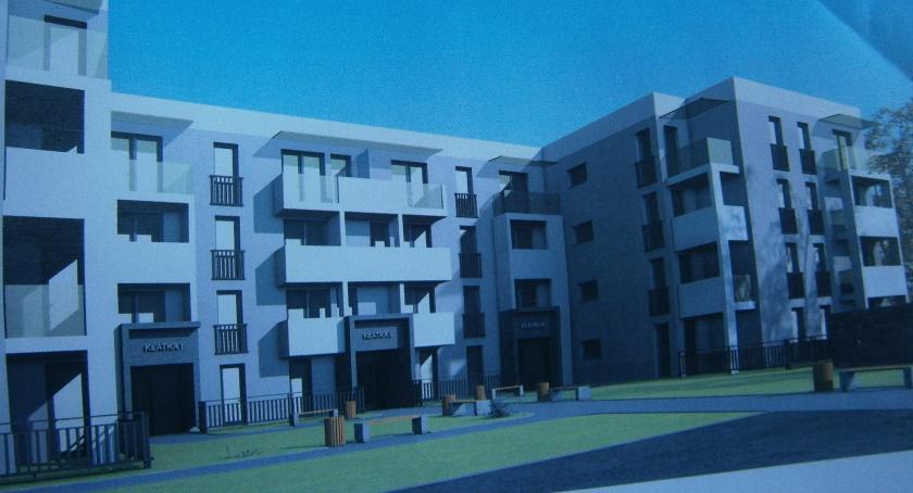 Miasto, Powstanie nowych mieszkań - zdjęcie, fotografia