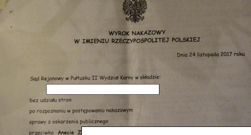 Sprawy kryminalne, Pułtuszczanka Aneta Skazana! finał afery studniówkowej - zdjęcie, fotografia