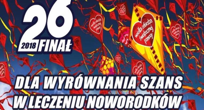 Wydarzenia, Lista gadżetów licytację dzisiejszego finału WOŚP - zdjęcie, fotografia