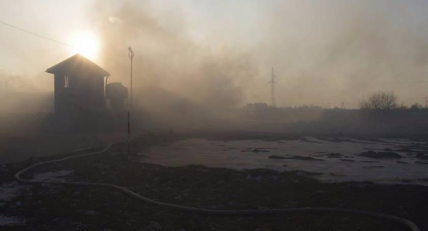 Straż Pożarna, Straty wczorajszym pożarze bardzo duże - zdjęcie, fotografia