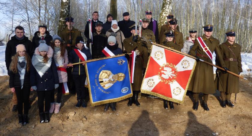 Wydarzenia, Obchody rocznicy wybuchu powstania styczniowego Sokołowie Włościańskim - zdjęcie, fotografia