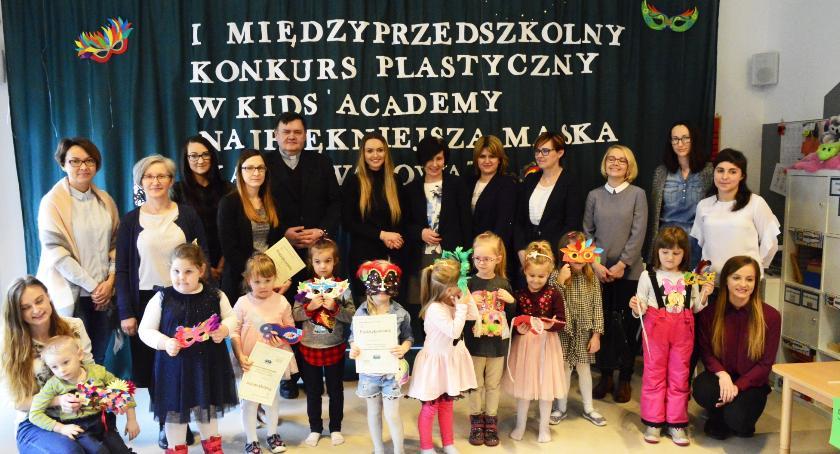 Przedszkola, Najpiękniejsze maski karnawałowe wybrane - zdjęcie, fotografia