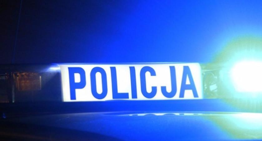 Policja, Napad stację paliw Zbroszkach - zdjęcie, fotografia
