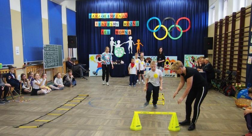 Lekkoatletyka, Paraolimpiada pułtuskiej Trójce - zdjęcie, fotografia
