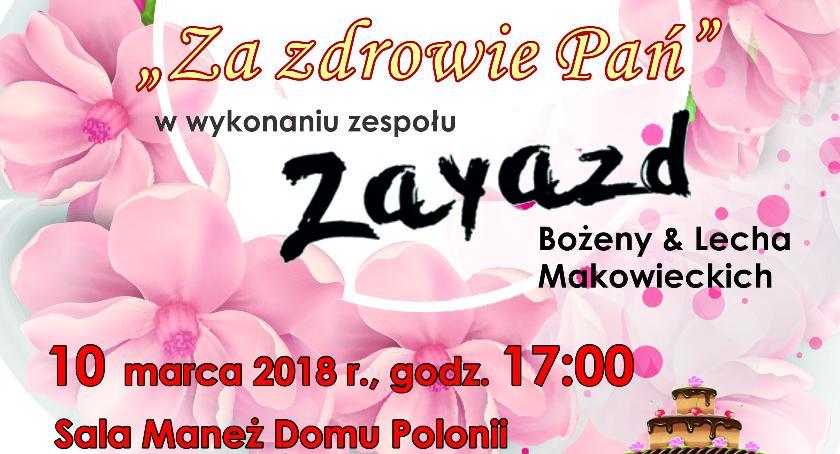 Zaproszenia, Koncert okazji Kobiet - zdjęcie, fotografia
