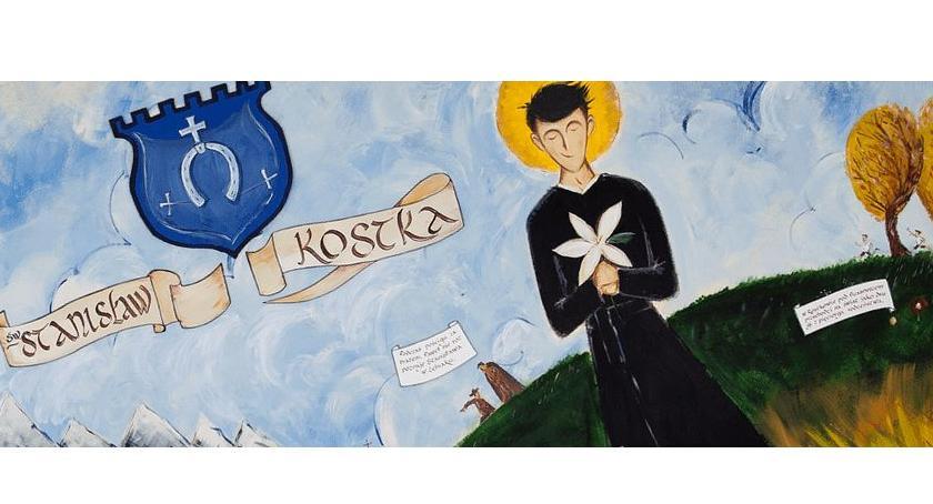 Z życia parafii, Peregrynacja obrazu relikwii Stanisława Kostki dekanatach diecezji płockiej - zdjęcie, fotografia
