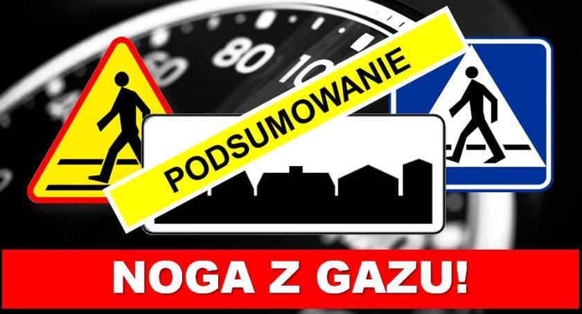 """Komunikaty policji, """"Noga gazu"""" bilans działań - zdjęcie, fotografia"""