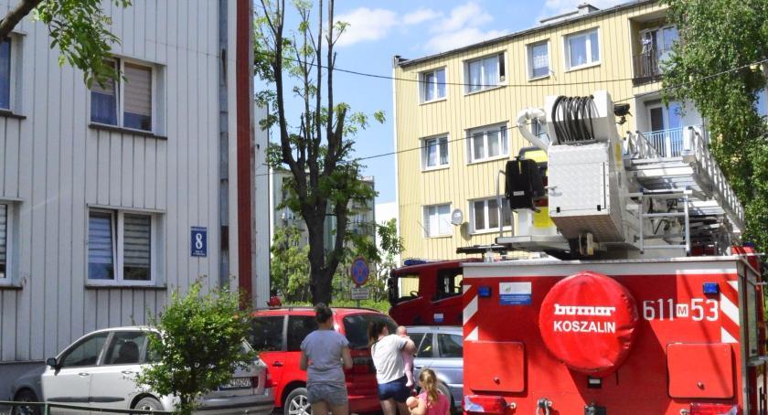 Straż Pożarna, Fałszywy alarm - zdjęcie, fotografia