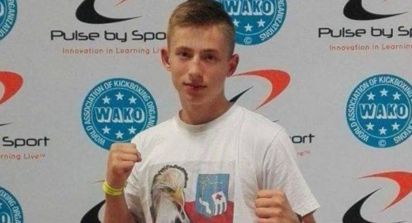Sporty walki, Aleksander Chymkowski Kadrze Narodowej Kickboxingu - zdjęcie, fotografia