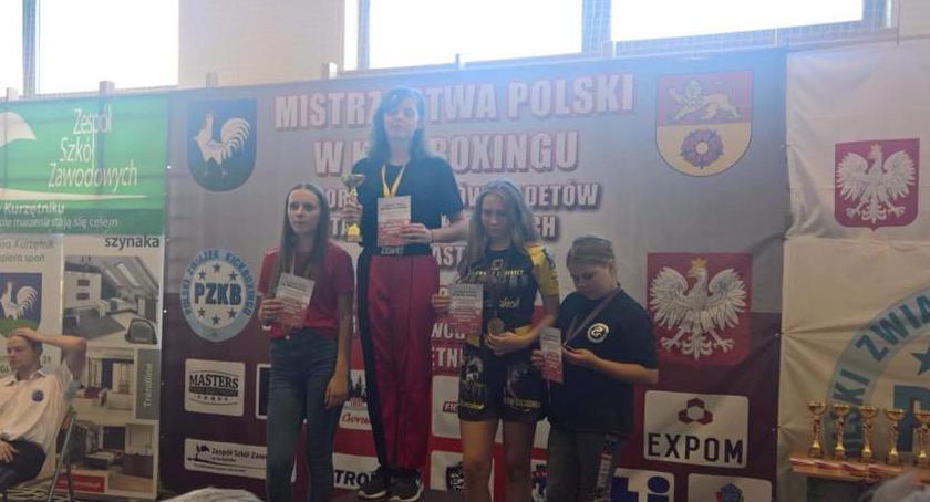 Sporty walki, Semiramida Mistrzostwa Polski Kickboxingu Kurzętniku - zdjęcie, fotografia